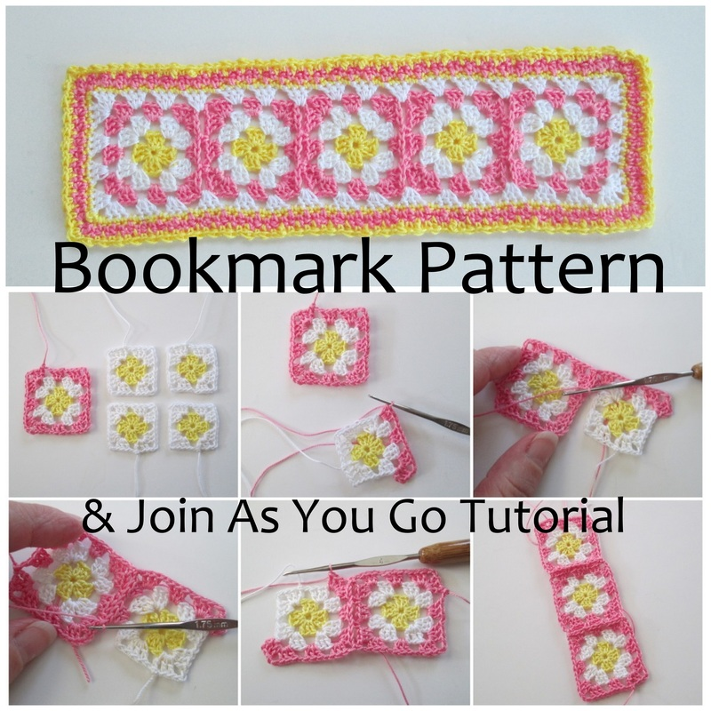 Granny Square Bookmark Pattern
