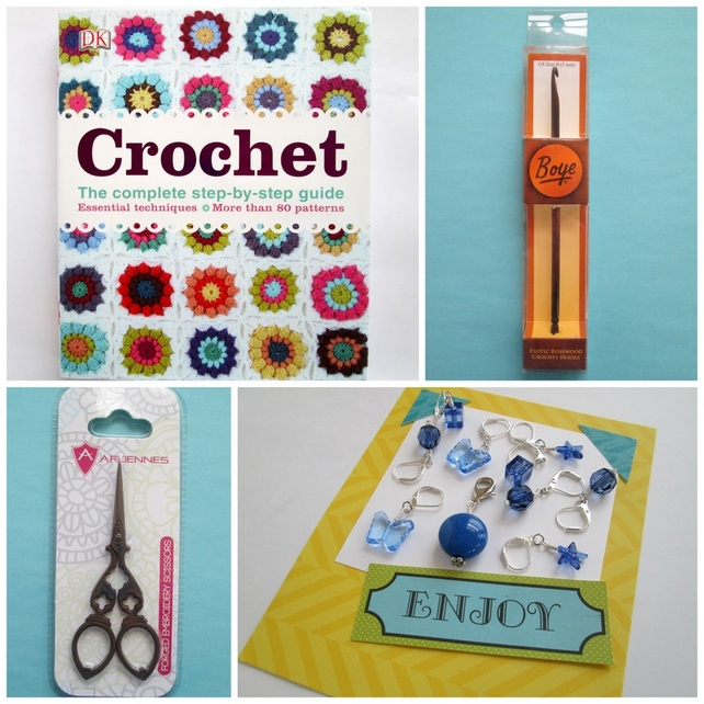 Crochet Giveaway Collage