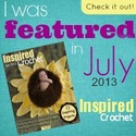 Inspired Crochet July Cover