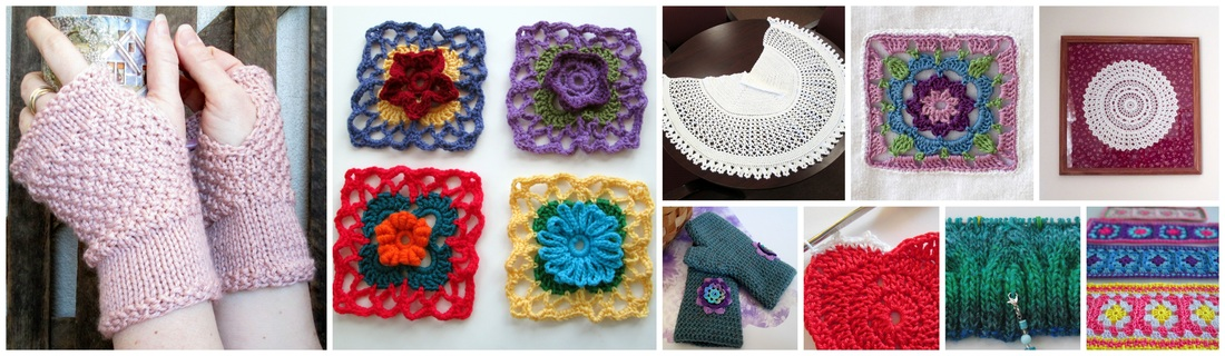 Knit & Crochet Collage