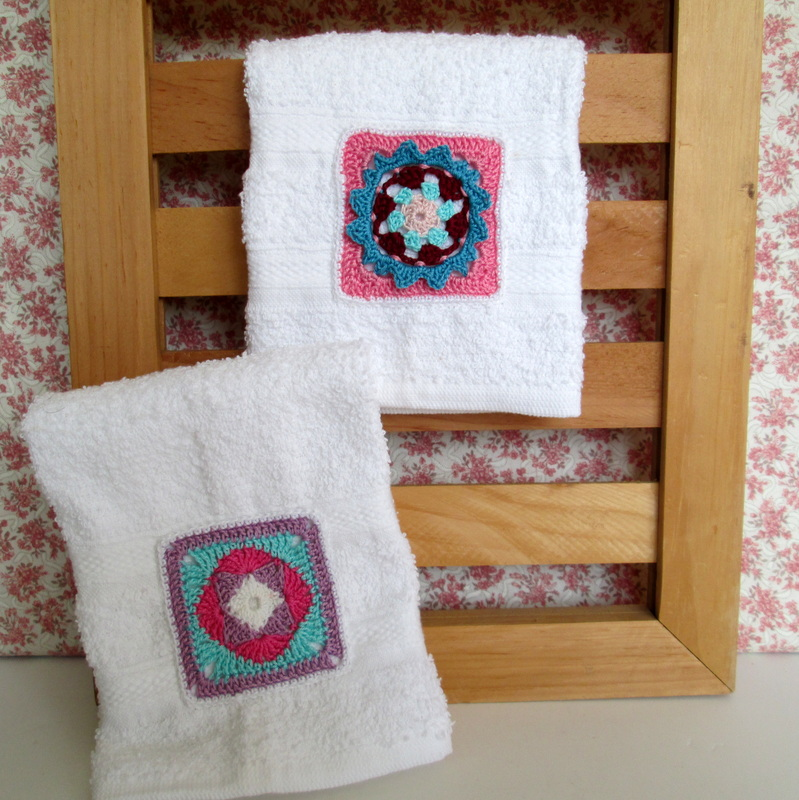 Towles with Thread Crochet Grannies
